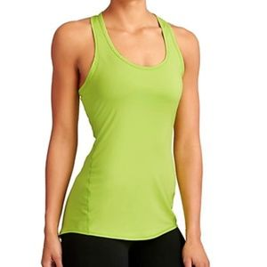 Athleta Chi Tank Extra Long- Cactus green SIZE S